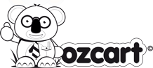 Ozcart Ecommerce Black And White Logo